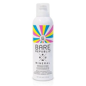 Bare Republic mineral whipped mousse sunscreen
